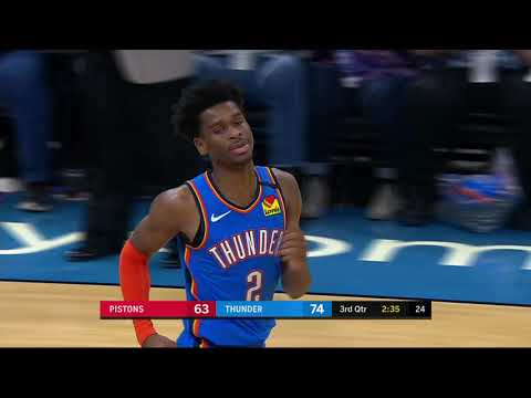 Oklahoma City Thunder vs Detroit Pistons | February 7, 2020