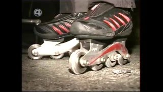Равиль Файзуханов - рекорд скорости на роликовых коньках (206 км/ч)