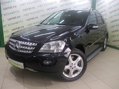 MERCEDES BENZ ML 500 4MATIC 2008 г в