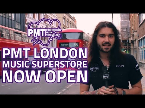 PMT London Store Tour - The Newest Guitar Shop in London!
