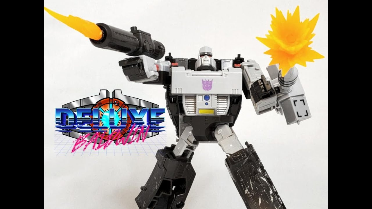 Earthrise War for Cybertron Megatron Review by Deluxe Baldwin