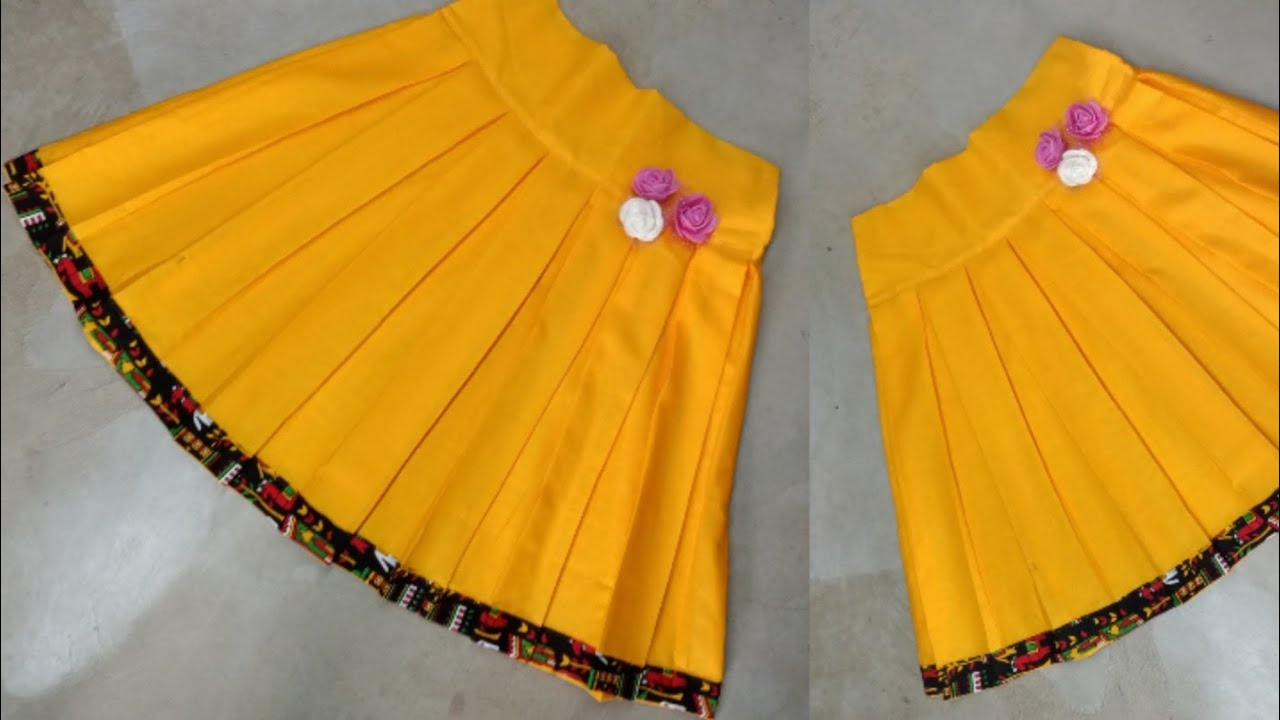 Download Box Plate Short Skirt Cutting and Stitching by Beautiful Lady Style/ Baby Skirt/ New Design Skirt