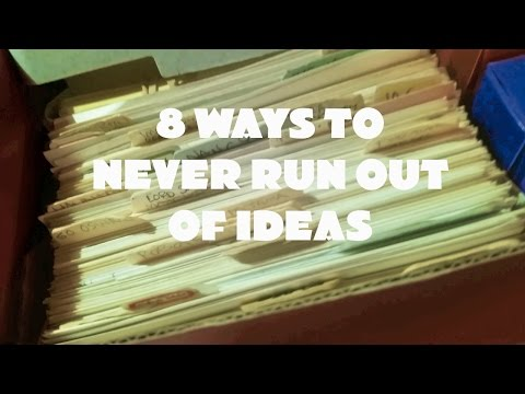 8 Way to Never Run Out of Ideas | Sequential Artist's Workshop