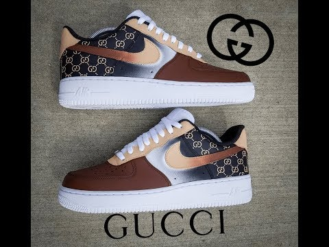 """How To: Custom """"Life Of Gucci"""" Shoes I Angelus Paints"""