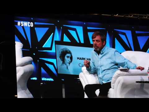 Mark Hamill's Tribute to Carrie Fisher (Star Wars Celebration Orlando 2017)