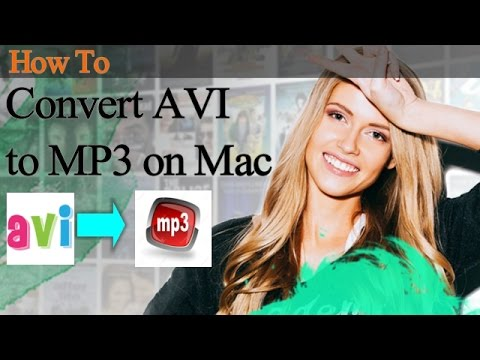 How to Convert AVI to MP3 on Mac- iMedia Converter Deluxe