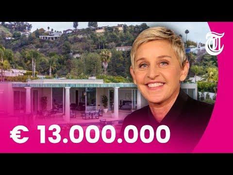 Binnenkijken: Ellen DeGeneres koopt villa in Beverly Hills