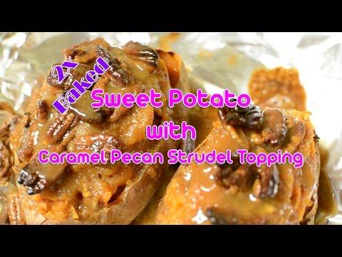 Twice Baked Sweet Potato Video Recipe