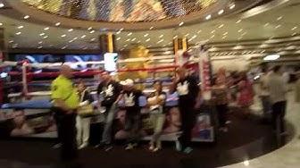 Walk Through The MGM Grand Hotel & Casino On Fight Night