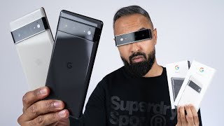 Google Pixel 6 vs 6 Pro UNBOXING - Which Should You Buy?