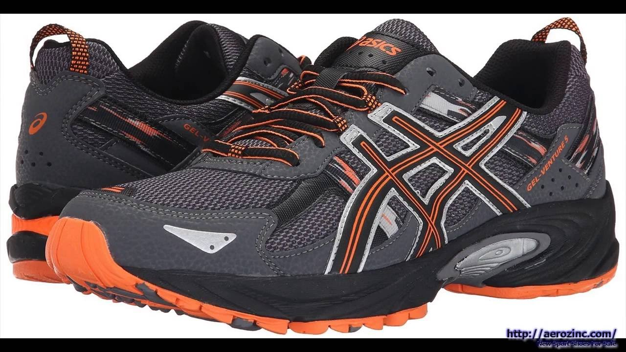ASICS Men's GEL Venture 5 Running Shoes 2016 - YouTube