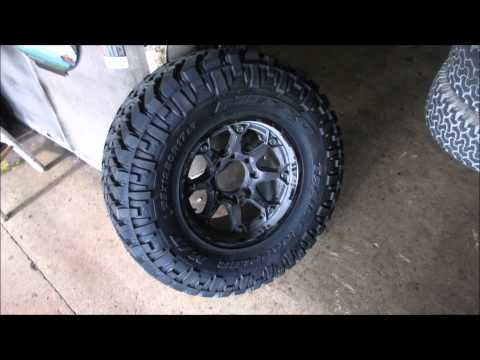 35 12 5 R17 >> Dodge 2500 With 35 12 5 17 Tires Youtube