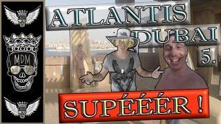 ATLANTIS AQUAPARK DUBAI VLOG | 5 DEN | TESTUJEME Atlantis Aquaventure Waterpark  DUBAI