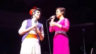 """A Whole New World"" - Lea Salonga and Jimmy Sherfy (As Aladdin) - 2016!"