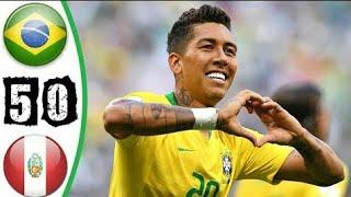 Peru vs Brazil 0-5 Highlights & Goals Resumen y Goles 2019