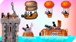 ТОП КАТАПУЛЬТА - ПУШКА. Катапульта: Атака пиратов The Catapult: Clash With Pirates Игры для андроид