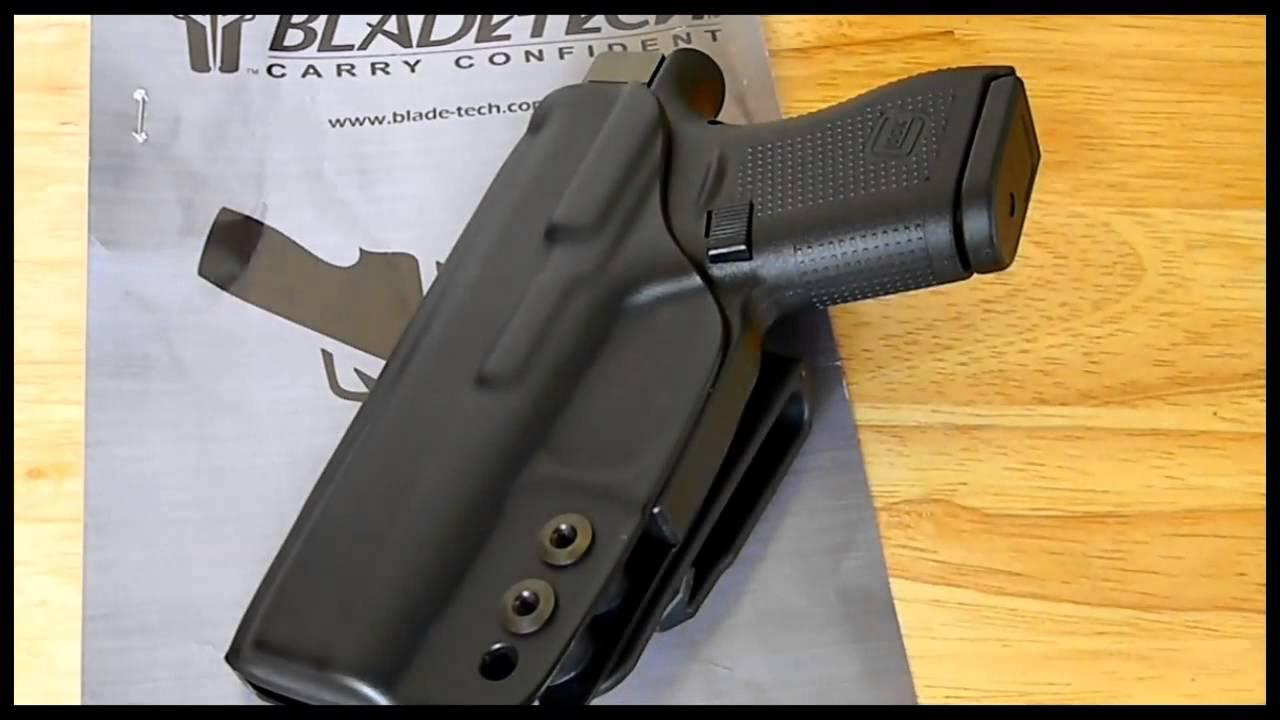 Blade-Tech Industries IWB Klipt Ambi Appendix Holster