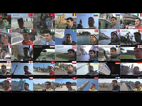Selfie Carousel Around The World