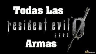 Resident Evil Zero HD Remaster- Como conseguir todas las armas