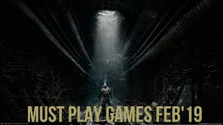 Top Upcoming Games February 2019 - PS4/XBOX ONE/PC/SWITCH