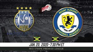 🔴PRE-GAME SHOW: Harbour View vs Mount Pleasant Red Stripe Premier League Monday Night