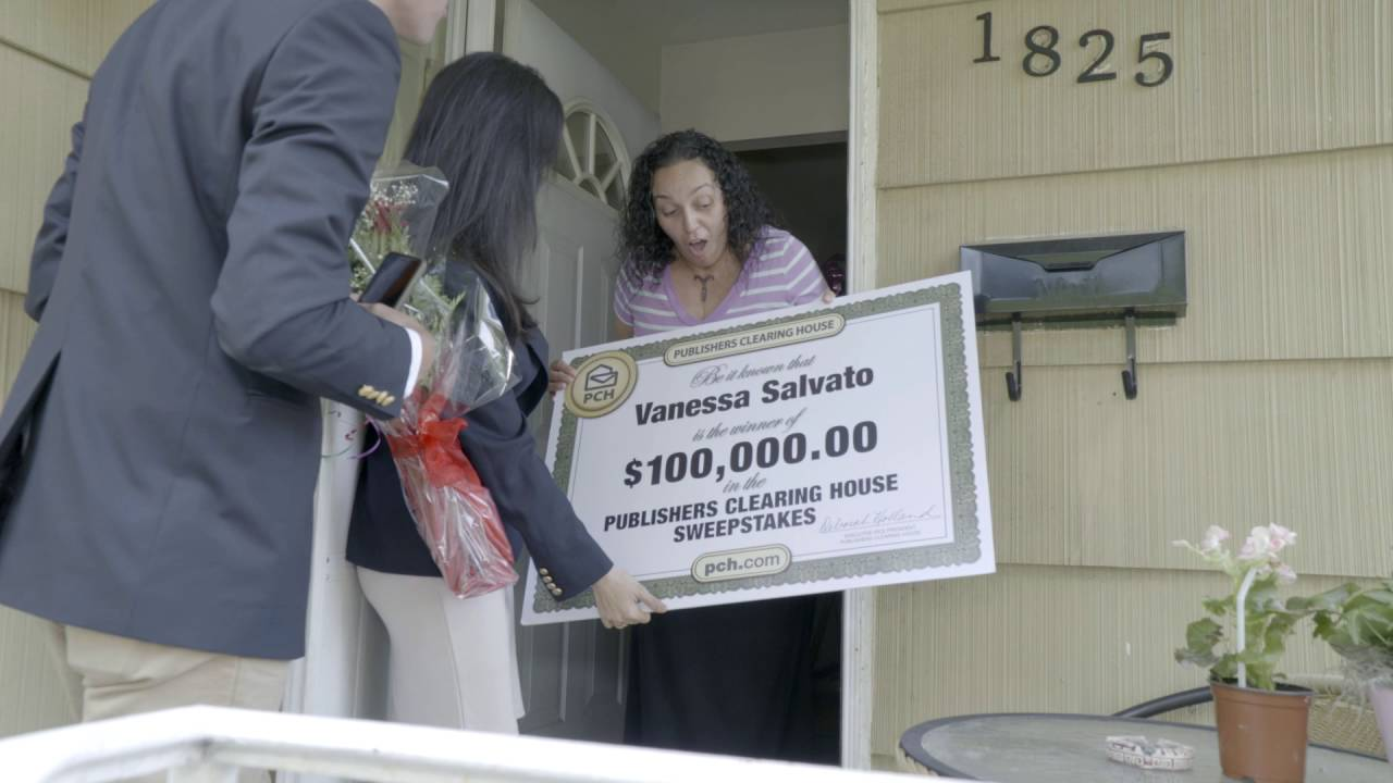 Repeat Publishers Clearing House Winners: Vanessa Salvato