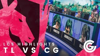 Video Team Liquid LoL W2 Day 2 - TL vs CG Highlights download MP3, 3GP, MP4, WEBM, AVI, FLV Agustus 2018