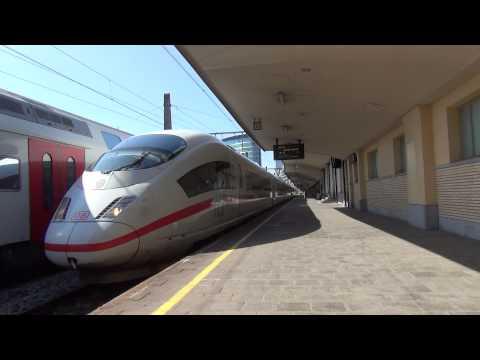 ICE 4603 vertrekt uit Station Brussel Noord