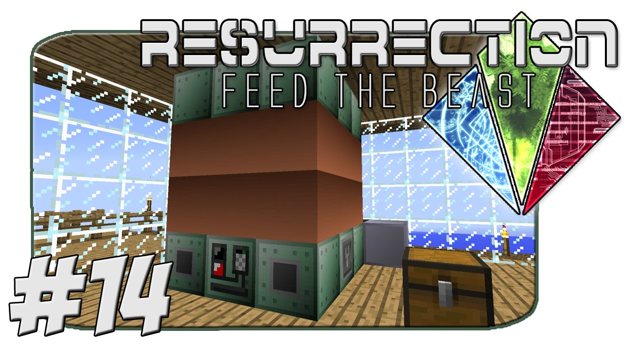 FTB Resurrection - GregTech Electric Blast Furnace - Part 14