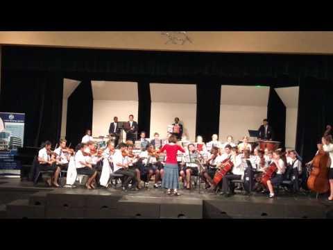 Resurgences Robert Sheldon Hellenic Academy Orchestra, NIAA Music Festival, 2017,Harare,Zimbabwe