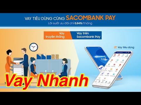 Cách vay tiêu dùng nhanh trên app sacombank pay như thế nào | điều kiện vay | #lúa_tv