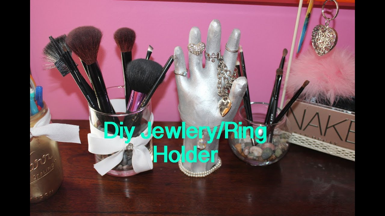 kitchen scissors lights for over table diy hand jewelry/ring holder! - youtube