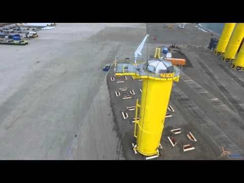 Gemini project progress offshore wind