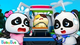 Baby Kitten's Trapped in Forest Fire | Monster Truck Rescue Team | Baby Panda Doctor | BabyBus