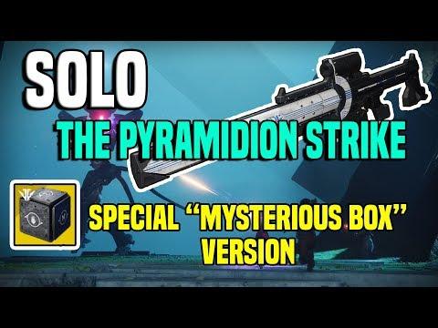 "Solo The Pyramidion Strike, Special ""Mysterious Box"" Version   Destiny 2 thumbnail"