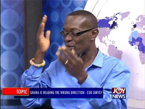 Ghana is heading the wrong direction - PM Express on Joy News (11-8-16)