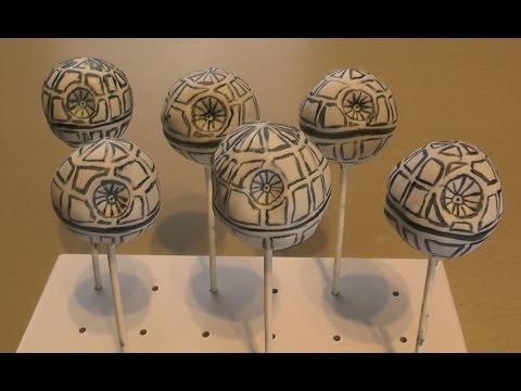 Todesstern Cake Pops - Star Wars - Freaky Baking - NinNin