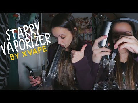 VAPING THROUGH A BONG w/ the Starry Vaporizer by XVape!