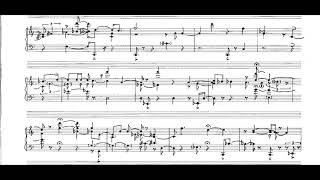 Jo Kondo - Sight Rhythmics for Piano (1975) [Score-Video]