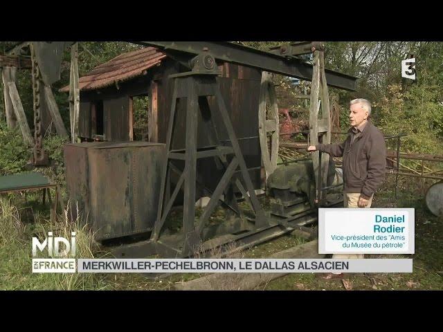SUIVEZ LE GUIDE : Merkwiller-Pechelbronn, le Dallas Alsacien