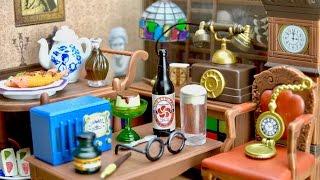 リーメント はいから大正ロマン邸 洋室セット ぷちサンプルシリーズ ポーズスケルトン Re-Ment Taisyo Roman and Western Style Room Set thumbnail