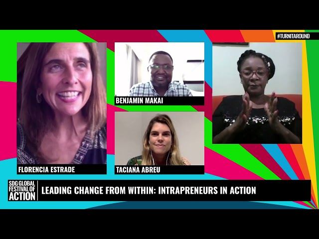 In Conversation: Leading Change From Within: Intrapreneurs in Action (Spanish)