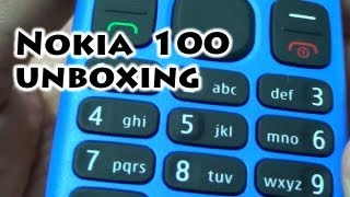 Nokia 100 Flashlight No Dual SIM - Unboxing - Movistar - Gaak