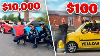 Download SIDEMEN $10,000 VS $100 ROAD TRIP Mp3 and Videos