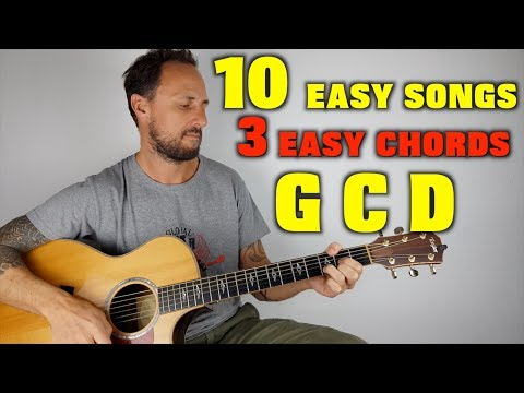 10 Easy Songs 3 Easy Chords G C D