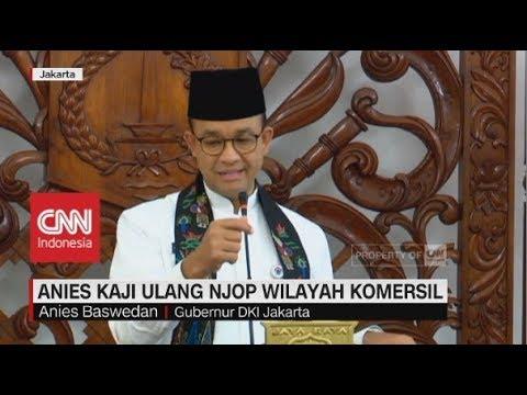 Anies Kaji Ulang NJOP Wilayah Komersil Di Jakarta