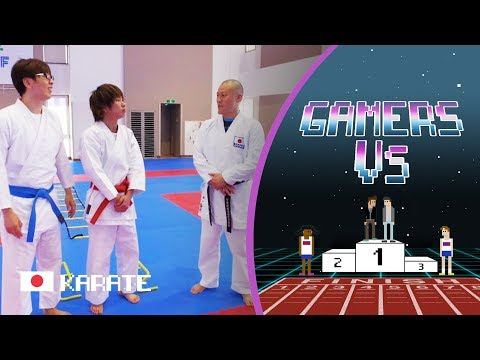 Tutti &Kikuchi Go Full Karate with Japan National Team Coach | Gamers Vs