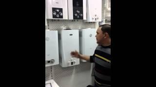 видео газовый котел
