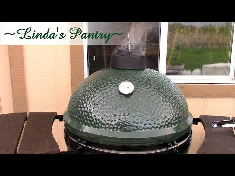 ~Big Green Egg Turkey Breast With Linda's Pantry~