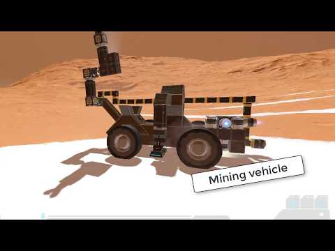 Mining vehicle - Space Engineers